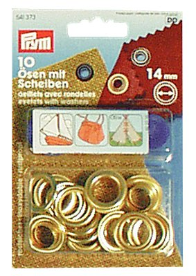 PRYM Nähfrei-Ösen 14 mm 10er Pack