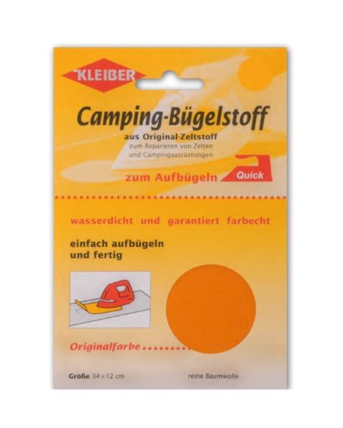 KLEIBER Camping Bügelstoff grau