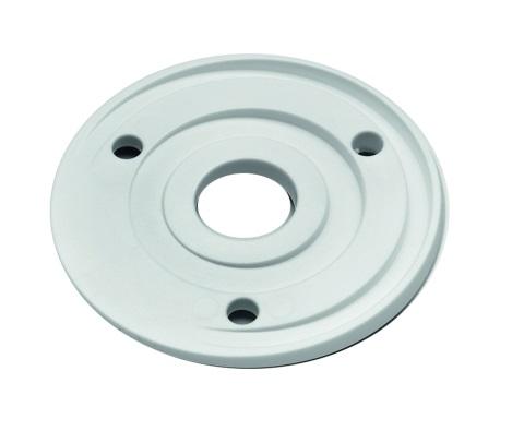 Winkelausgleich für Magnet-Türhalter weiß