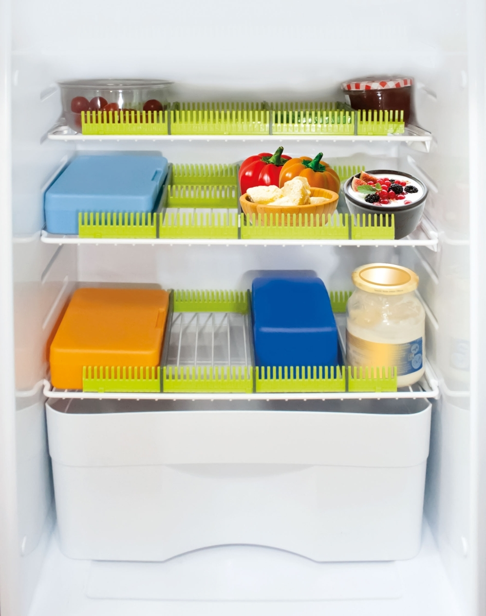 Purvario Stauleisten 30 Kühlschr. PURE LIME 8er Set