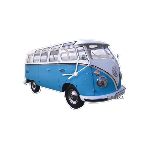 VW Collection Wanduhr blau