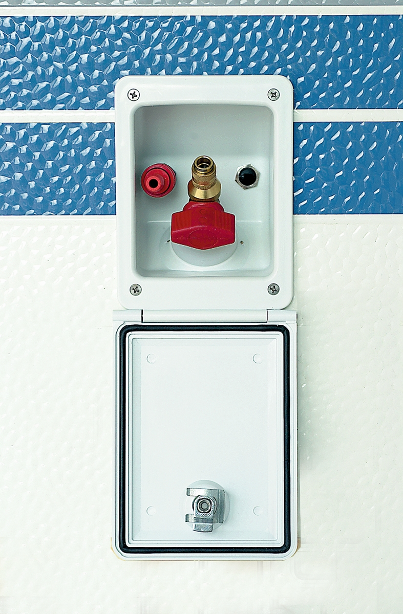 CARYSAN-Gas- u. Wassersteckdose