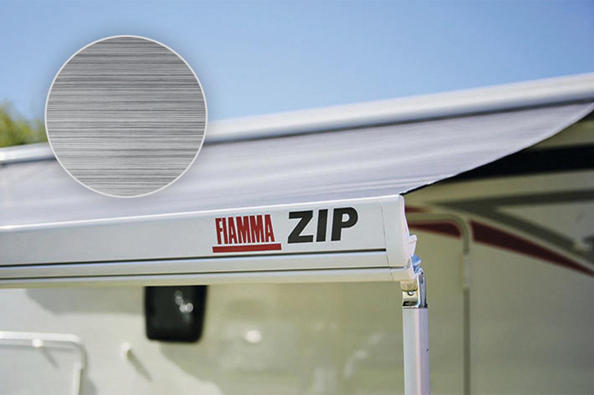 Fiamma ZIP S 350 Medium Markise mit Vorzelt Royal Grey