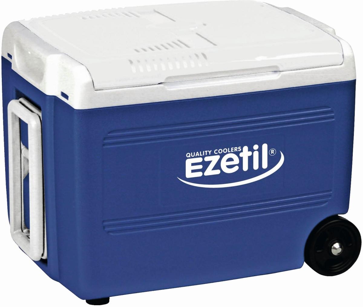 EZetil E40M Thermoelektrische Kühlbox 12/230 Volt 37 Liter blau