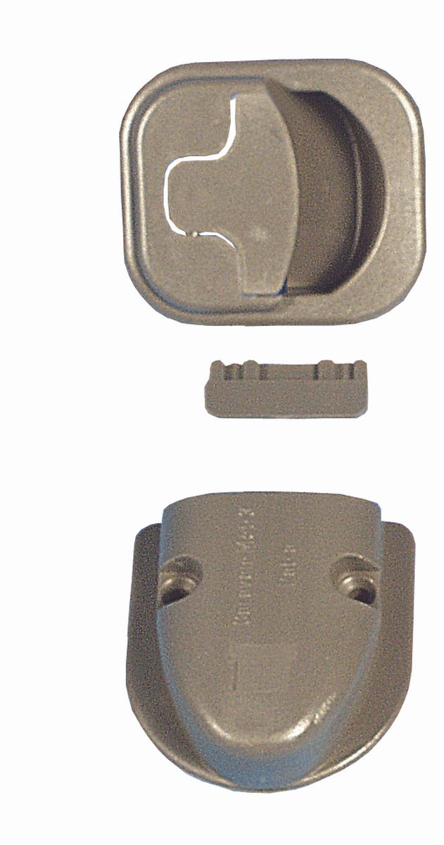 Verschluss Caravan-Mot-3 grau