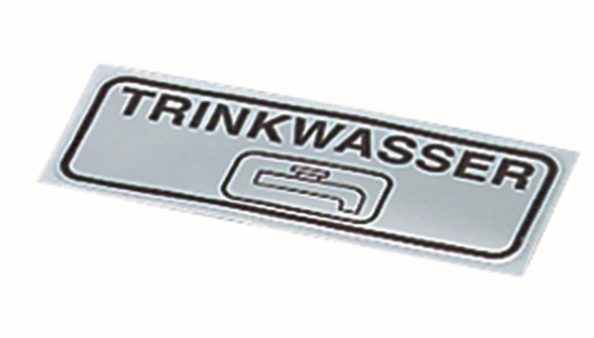 Hinweisschild TRINKWASSER