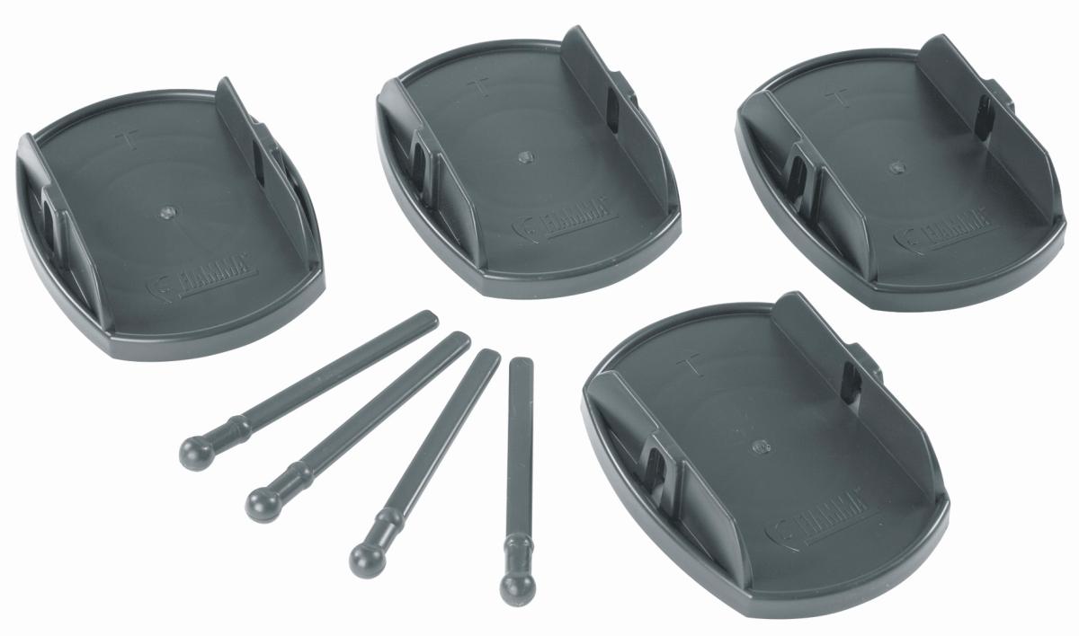 FIAMMA-Plates PRO Stützplatten 4er Set