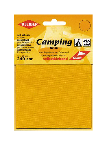 KLEIBER Camping Nylon Reparatur dunkelbraun