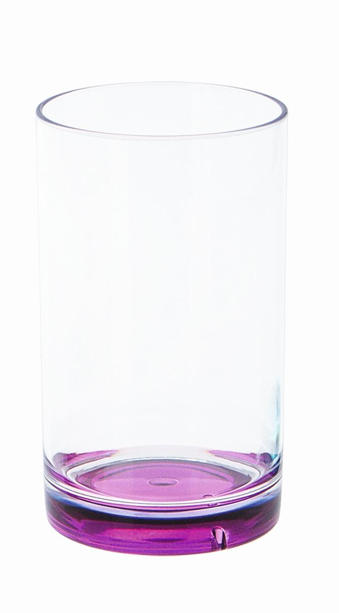 Gimex Trinkglas Boden brombeer