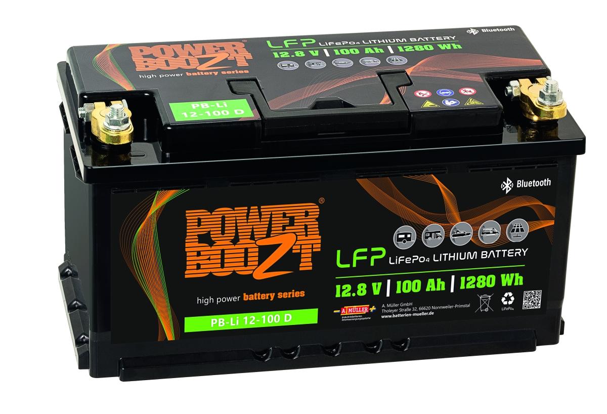 Lithium Batterie PB-Li 12-100 D