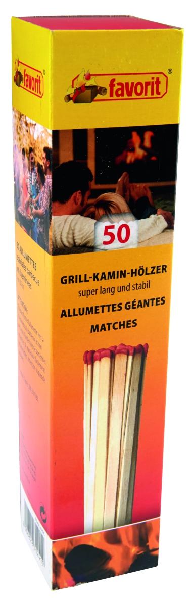 Grill-Kamin-Hölzer 50 Stk