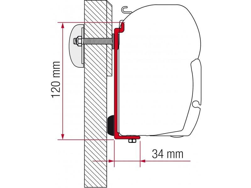 Fiamma Chausson Allegro, Challenger Eden Adapter Kit