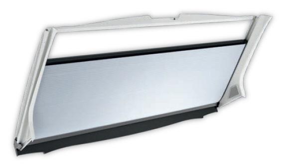 DOMETIC Frontscheiben-Rollo FP 300 grau Fiat Ducato X250/X290