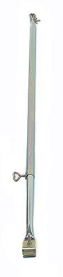 Dachauflagestange Stahl 120-200 cm, 22 mm