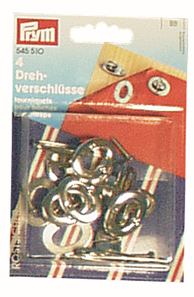 PRYM Nähfrei-Drehverschlüsse 4er Pack