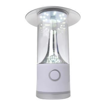 LED-Campinglampe dimmbar und aufladbar