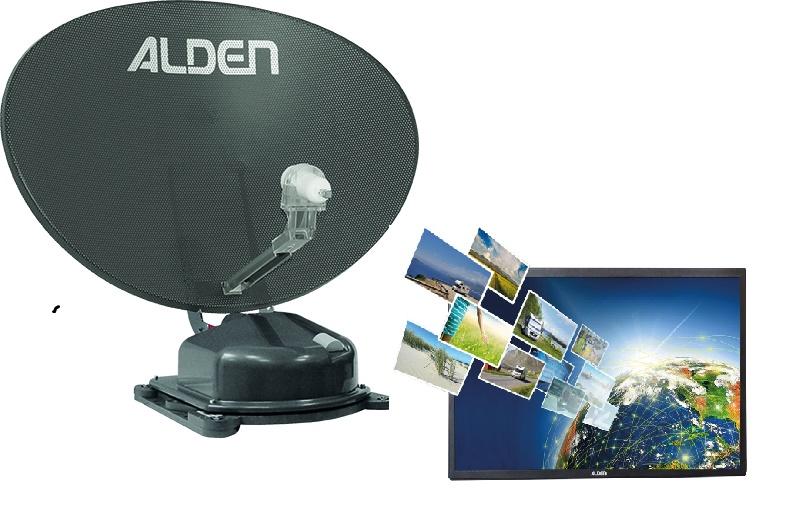 """ALDEN AS2 80 A.I.O. mit 22"""" TV grau"""