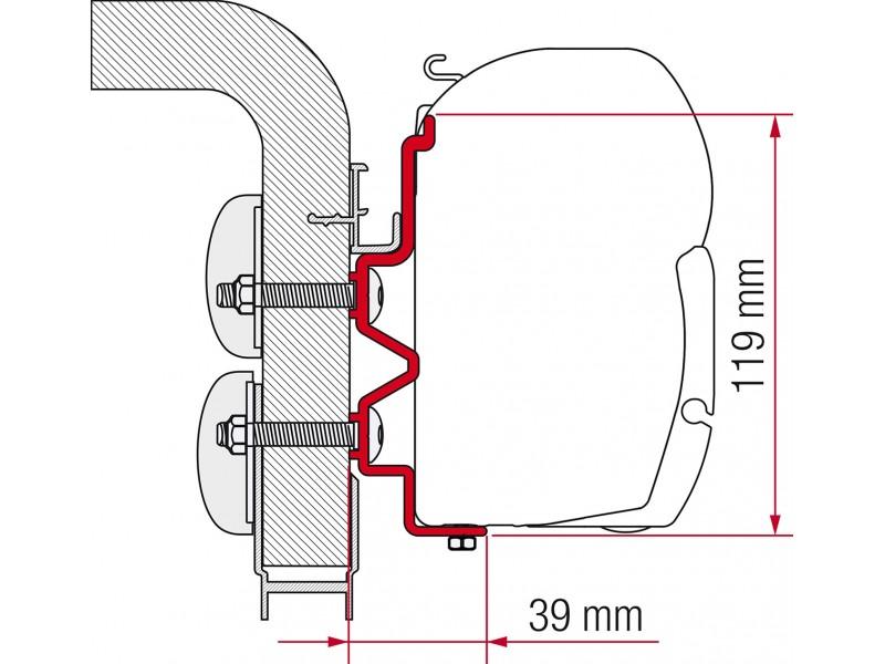 Fiamma HymerCamp Adapter Kit