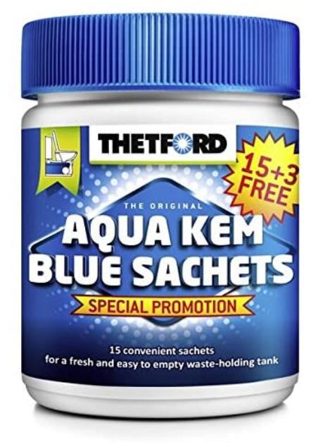 Thetford Aqua Kem Blue Sachets (Aktion 15+3)
