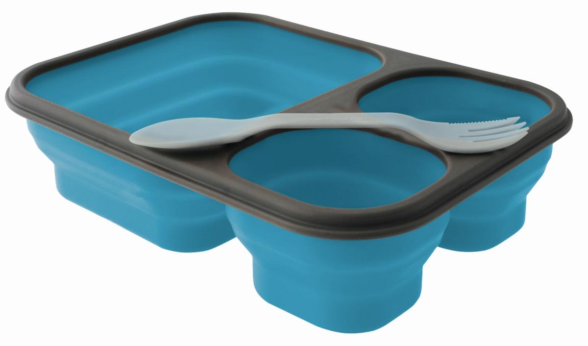 EuroTrail Faltbare Lunchbox L blau