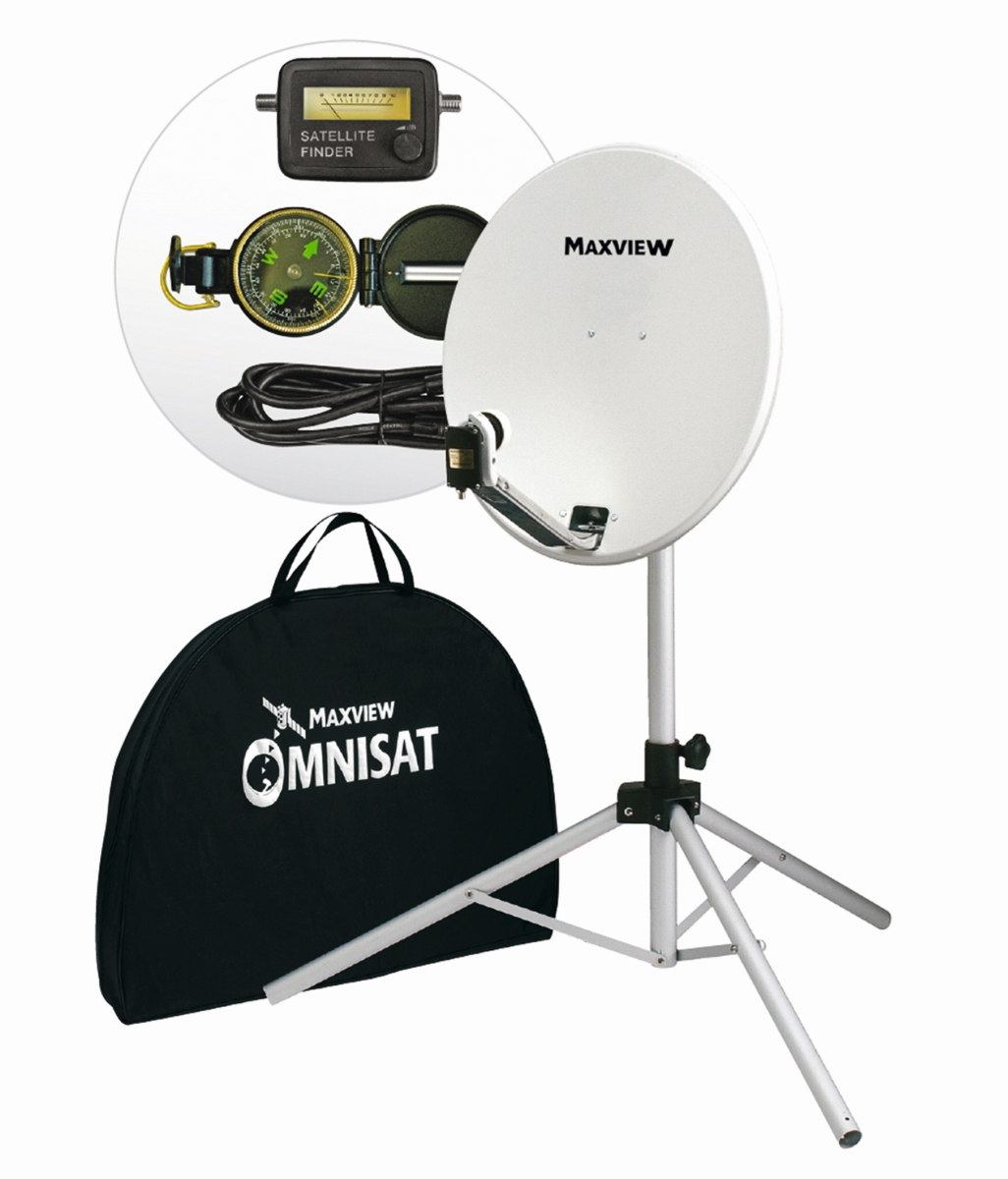 MAXVIEW Portable-Sat-Kit Light 54 cm