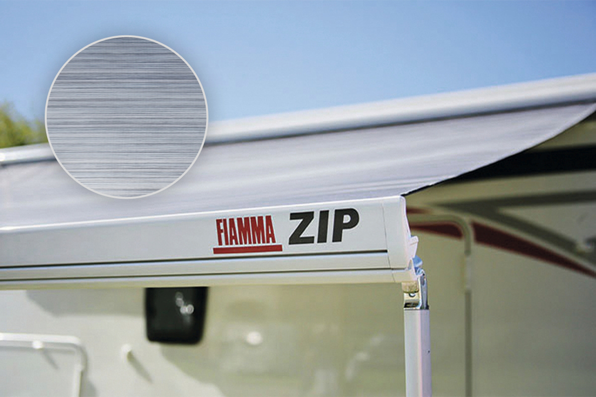 Fiamma ZIP S 350 Large Markise mit Vorzelt, Royal Blue