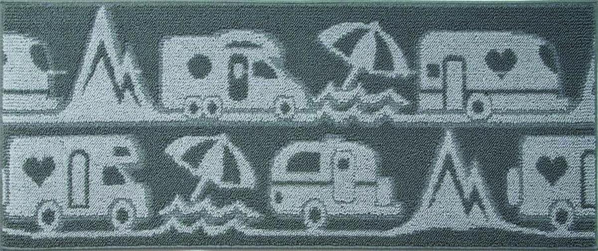 Teppichläufer MASTER CAMP dunkelgrau 50 x 100
