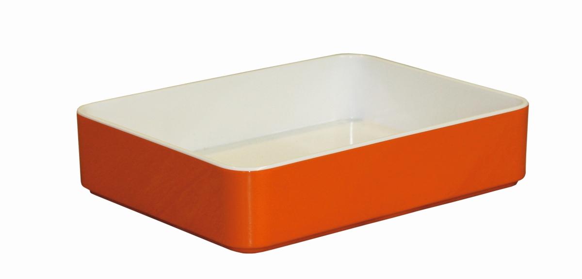 Gimex Stapeltablett orange 18 x 14 cm