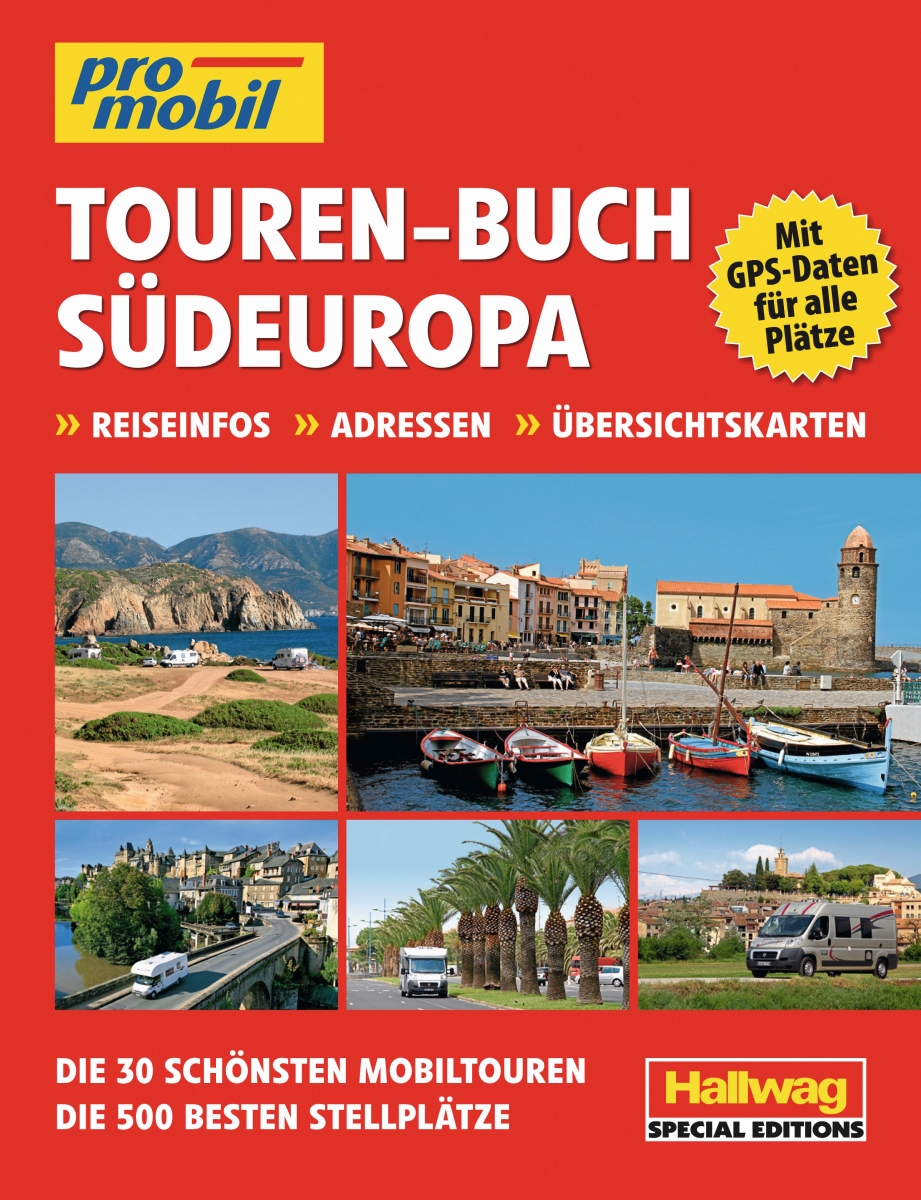 promobil Tourenbuch Südeuropa