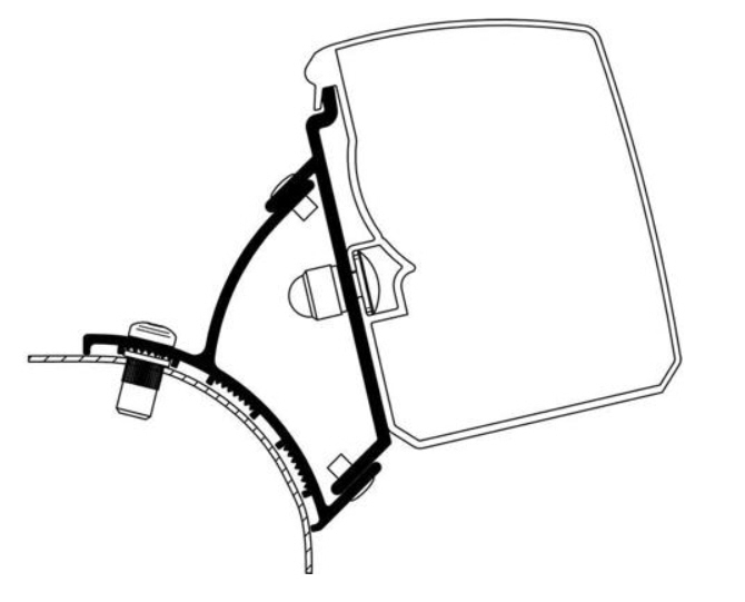 Thule Omnistor 3200 VW T5/T6 Adapter
