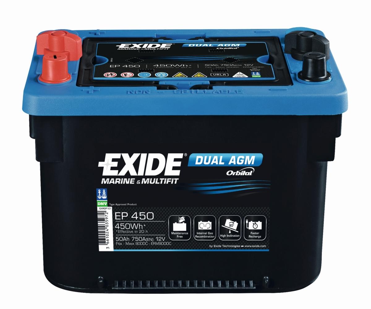 EXIDE Dual AGM EP