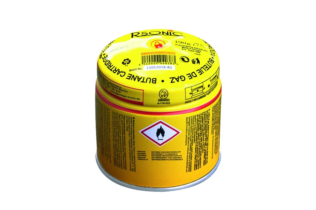Gaskartusche 190 g