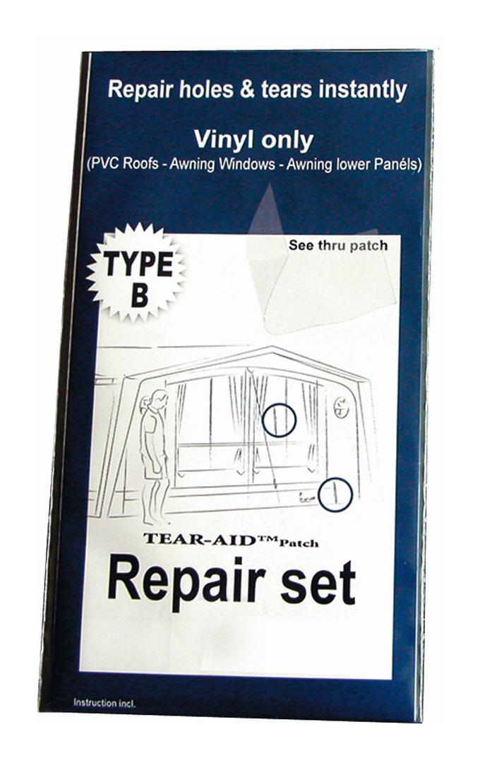 TEAR AID Zelt Reparaturset - PVC und Vinyl