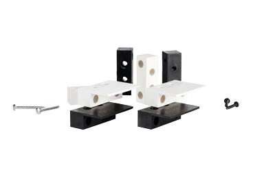 Thitronik Montageadapter 2er Set weiß