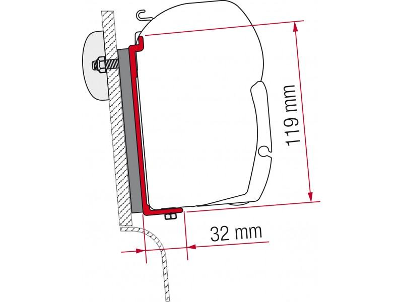 Fiamma High Roof Westfalia Adapter Kit