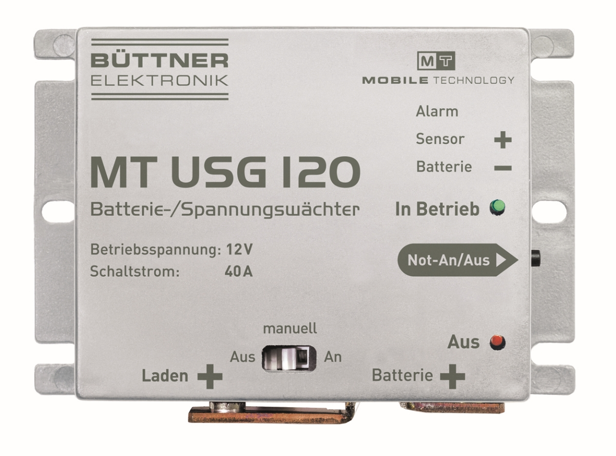 Büttner Batterie-Controller MT USG 120