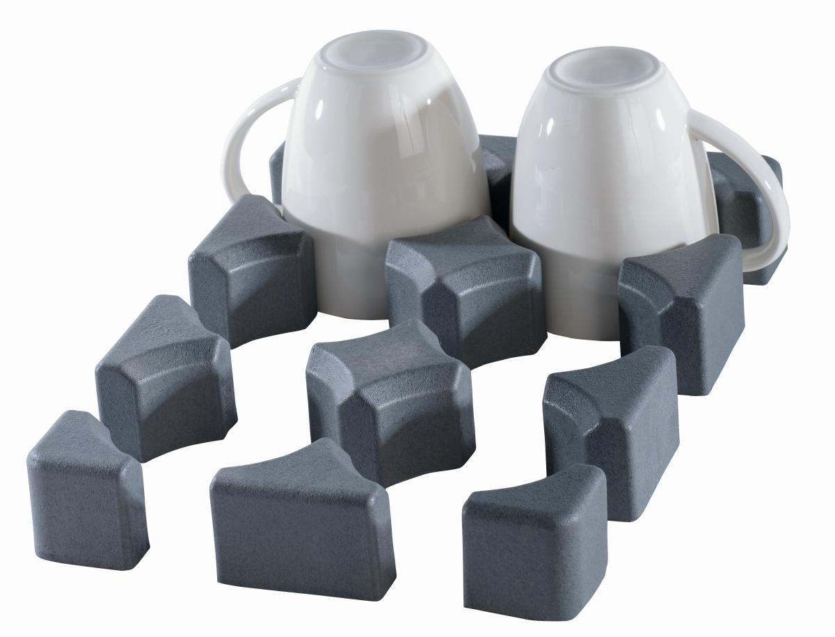 Purvario Modul I 6er Glas-/Tassenhalter nieder