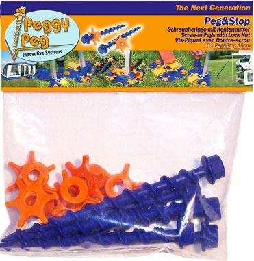 Peggy Peg & Stop 6er Pack