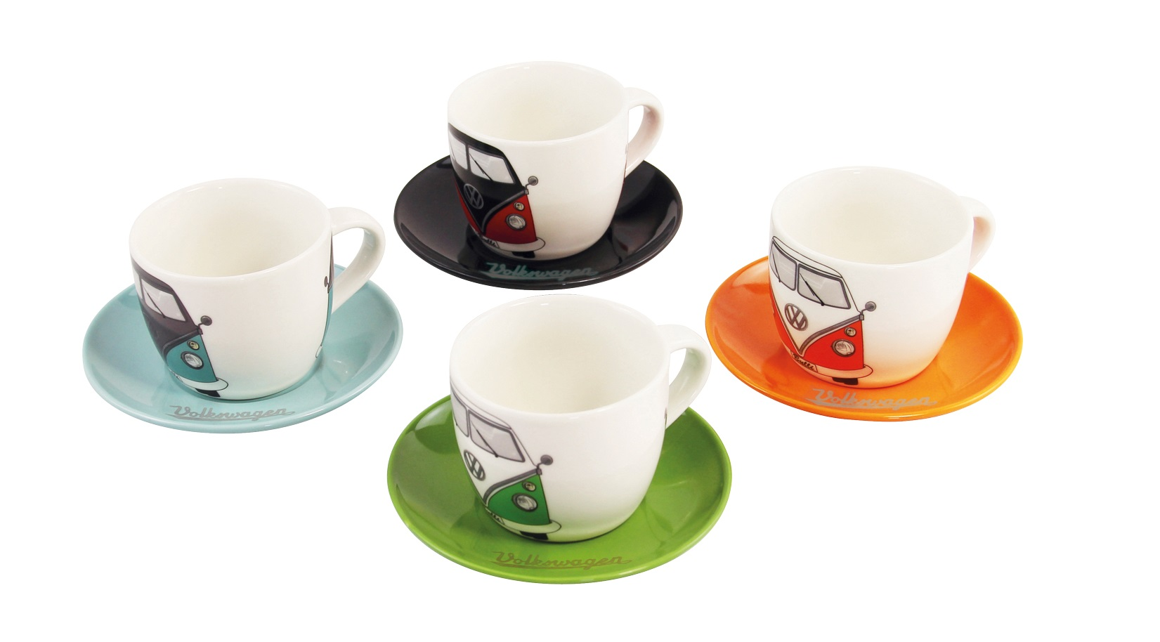 VW Collection Espressotassen 4er Set