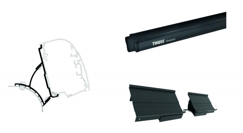 Thule Omnistor 4900 300 cm inkl. VW T5/T6 Adapter