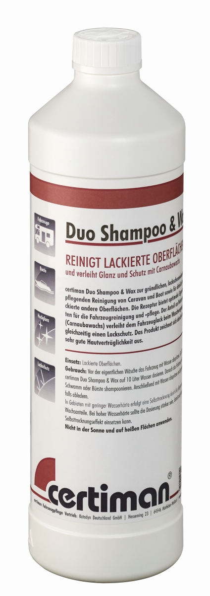 certiman® Duo Shampoo & Wax 1000 ml
